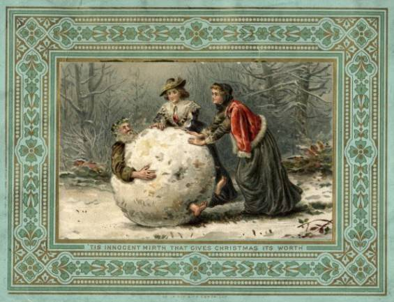 1420032615438443 These 9 Vintage Victorian Christmas Cards Are Just Plain Weird