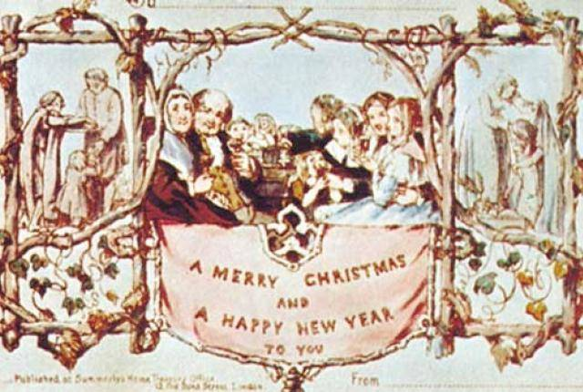1420032615438880 These 9 Vintage Victorian Christmas Cards Are Just Plain Weird