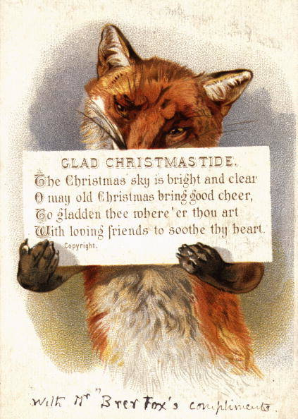 1420032615959170 These 9 Vintage Victorian Christmas Cards Are Just Plain Weird