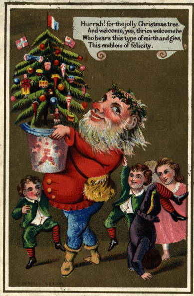 1420032617606066 These 9 Vintage Victorian Christmas Cards Are Just Plain Weird