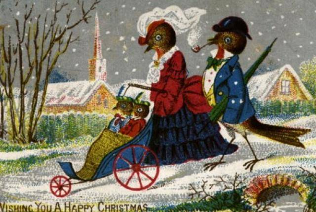 1420032617647017 These 9 Vintage Victorian Christmas Cards Are Just Plain Weird